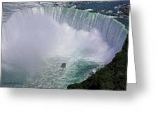 Horseshoe Falls And Maid Of The Mist Greeting Card
