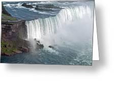 Horseshoe Falls At Niagara Greeting Card