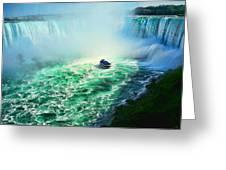 Horseshoe Falls Niagara Greeting Card