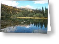 Horseshoe Lake Greeting Card