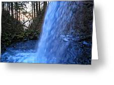 Horsetail Falls 2 Greeting Card