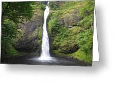 Horsetail Falls  Greeting Card