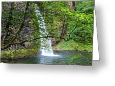 Horsetail Falls, Oregon Greeting Card