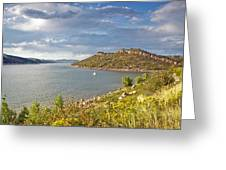 Horsetooth Dam Co Greeting Card