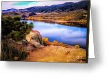 Horsetooth Lake Overlook Greeting Card