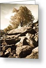 Horsetooth Reservoir 3 Greeting Card by Matthew Angelo