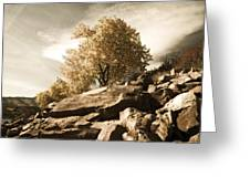 Horsetooth Reservoir 4 Greeting Card by Matthew Angelo