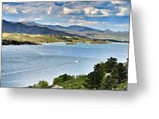 Horsetooth Reservoir Greeting Card