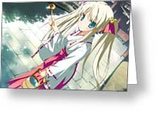 Hoshizora No Memoria Greeting Card