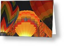 Hot Aie Balloons Greeting Card
