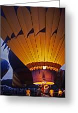 Hot Air Balloon - 10 Greeting Card by Randy Muir