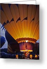 Hot Air Balloon - 10 Greeting Card