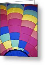 Hot Air Balloon - 9 Greeting Card