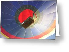 Hot Air Balloon Greeting Card by Richard Mitchell