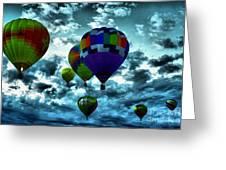 Hot Air Balloons In Albuquerque Greeting Card