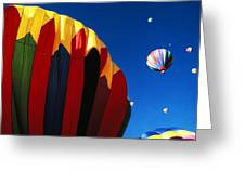 Hot Air Goes Up Greeting Card