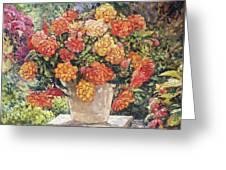 Hot Begonia Greeting Card
