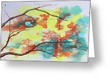 Hot Canyon Winds Greeting Card