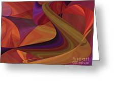 Hot Curvelicious Greeting Card