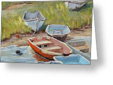 Hot Dinghy Greeting Card