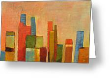 Hot Manhattan Greeting Card