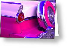 Hot Pink 55 Greeting Card