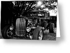 Hot Rod - Ford Model A Greeting Card