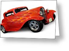 Hot Rod Ford Coupe 1932 Greeting Card