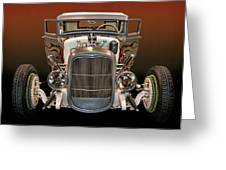 Hot Rod Lincoln Too Greeting Card