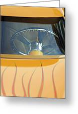 Hot Rod Steering Wheel 2 Greeting Card
