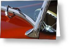 Hot Rod Steering Wheel 4 Greeting Card