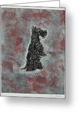Hot Scottie Greeting Card