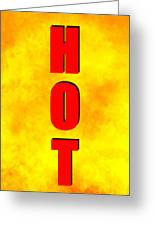 Hot Spc Work A Greeting Card