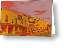 Hot Streets Greeting Card