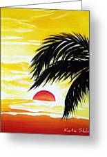 Hot Tropics Greeting Card
