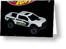 Hot Wheels Ford F-150 Raptor Greeting Card by James Sage