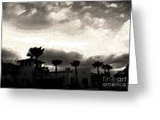 Hotel California Ink Greeting Card