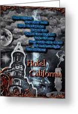 Hotel California Greeting Card