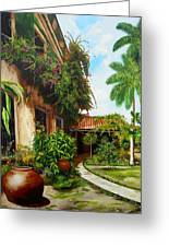 Hotel Camaguey Greeting Card