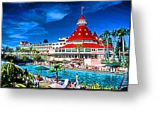 Hotel Coronado Greeting Card