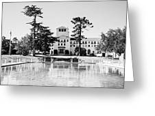 Hotel Del Monte - Bw Greeting Card