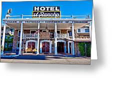 Hotel El Rancho Greeting Card