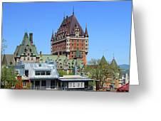 Hotel Fairmont Le Chateau Frontenac 6496 Greeting Card