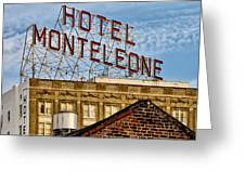 Hotel Monteleone - New Orleans Greeting Card