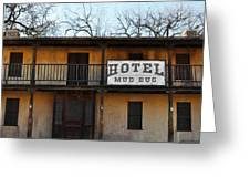 Hotel Mud Bug Paramount Ranch Greeting Card