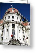 Hotel Negresco In Nice Greeting Card