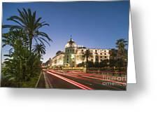 Hotel Negresco Nice  Greeting Card