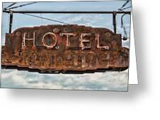 Hotel Pontotoc Greeting Card