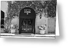 Hotel St Michel Greeting Card