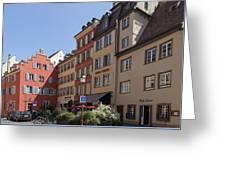 Hotel Suisse Strasbourg France Greeting Card